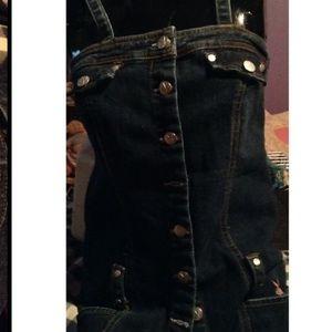 <Rare>playboy bunny Jean dress